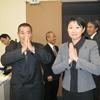 少林寺拳法振興議員連盟総会に出席