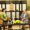 ハオ・ナムホン副首相との会談