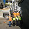 8月20日 ラトローブ・バレー各種エネルギー産業地・施設を視察�A