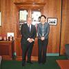 8月21日 ティム・パラス ビクトリア州財務大臣との会談