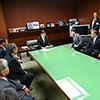石井国土交通大臣へ要望�A